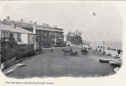 cowes parade and clubhouse