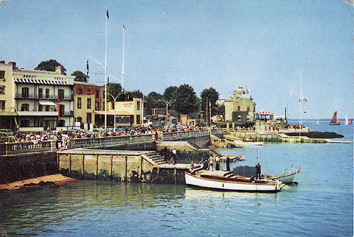 Cowes Parade around 1960