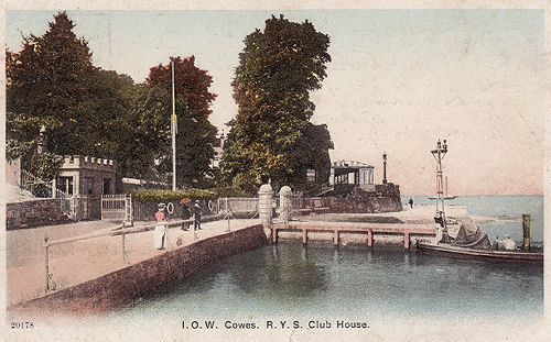 Cowes RYS Landing Stage