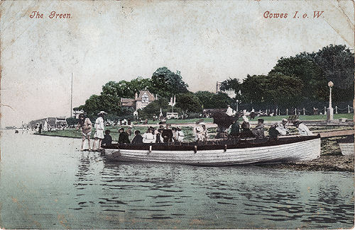 Cowes Green 1905