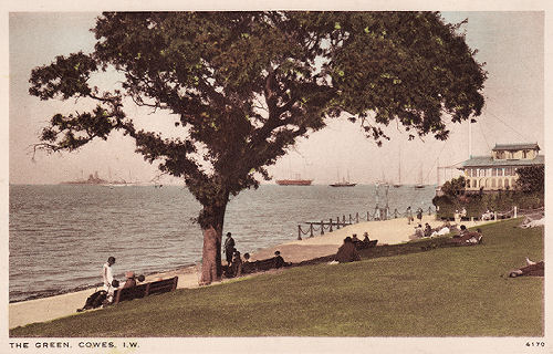 Cowes Green 1920