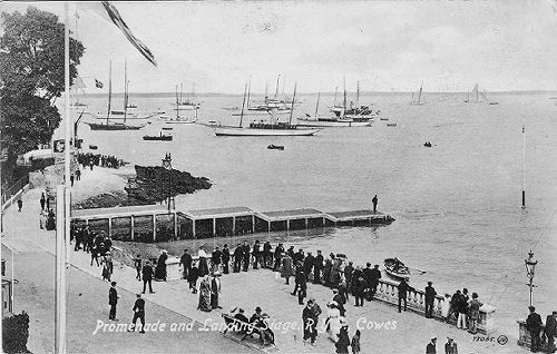 Cowes landing stage